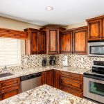 Wood Cabinets and Granite Countertops