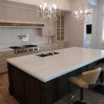 White Kitchen Counter