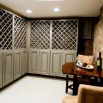 Heritage Slate Custom Wine Lattice